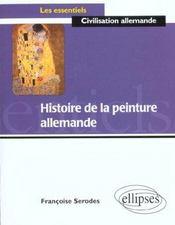 Histoire de la peinture allemande - Intérieur - Format classique