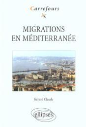 Migrations En Mediterranee - Couverture - Format classique