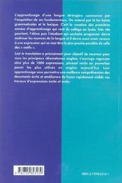 Lost In Translation L'Anglais D'Aujourd'Hui Dans Les Medias Expressions Idiomatiques Buzzwords - 4ème de couverture - Format classique