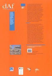 Les Fouilles De La Place Du General De Gaulle ; Edition 2001 - 4ème de couverture - Format classique