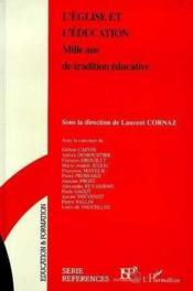 Eglise Et Education - Couverture - Format classique
