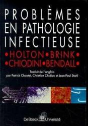 Problemes En Pathologie Infectieuse - Couverture - Format classique
