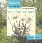 Reconnaître les fleurs des près - Intérieur - Format classique