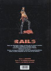 Railts t.1 ; jaguars - 4ème de couverture - Format classique
