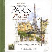 Carnet De Paris 7e Et 15e Arrondissements - Intérieur - Format classique