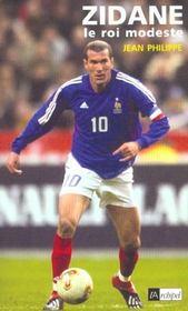 Zidane, le roi modeste - Intérieur - Format classique