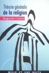Theorie Generale De La Religion - Intérieur - Format classique