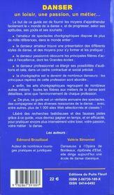 Danser. Un Loisir, Une Passion, Un Metier... Un Guide Pour Pratiquer La Danse, A - 4ème de couverture - Format classique