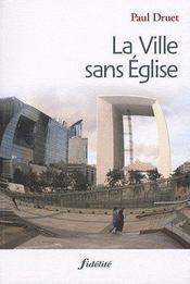 La Ville Sans Eglise - Intérieur - Format classique