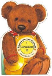 Prier avec les oursons ; i corinthiens 13 - Couverture - Format classique