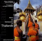 Fêtes et cérémonies en Thaïlande - Couverture - Format classique