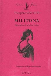 Militona - Couverture - Format classique