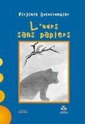L'ours sans papiers - Couverture - Format classique