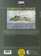 Robinson Crusoë - 4ème de couverture - Format classique