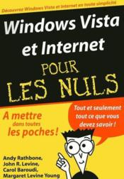 Vente livre :  Windows Vista & internet  - Rathbone Andy - Andy Rathbone - Rathbone/Levine - Rathbone/Levine