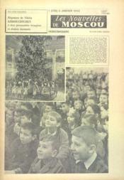 Nouvelles De Moscou (Les) N°1 du 06/01/1962 - Couverture - Format classique