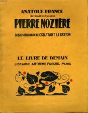 Pierre Noziere. 36 Bois Originaux De Constant Lebreton. Le Livre De Demain N° 196. - Couverture - Format classique