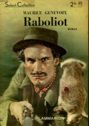Raboliot. Collection : Select Collection N° 165 - Couverture - Format classique