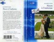 Noces A L'Italienne - The Italian Marriage - Couverture - Format classique