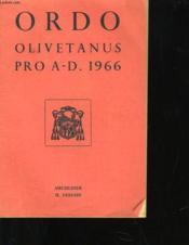 Ordo - Operis Dei Persolvendi - Couverture - Format classique