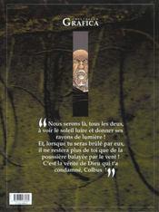 Le roman de malemort t.3 ; le don du sang - 4ème de couverture - Format classique