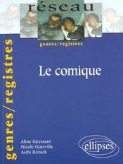 Le Comique Genres/Registres - Intérieur - Format classique