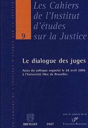 Le dialogue des juges - Intérieur - Format classique