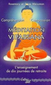 Meditation Vipassana - Couverture - Format classique