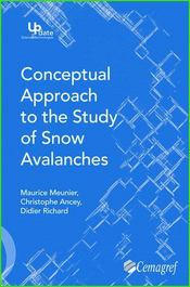 Conceptual approach to the study of snow avalanches - Intérieur - Format classique
