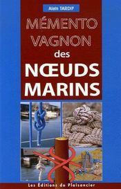 Memento des noeuds marins - Couverture - Format classique
