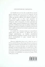 Les Vaudois De Napoleon - Des Pyramides A Waterloo - 4ème de couverture - Format classique