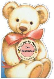 Prier avec les oursons ; béatitudes - Couverture - Format classique