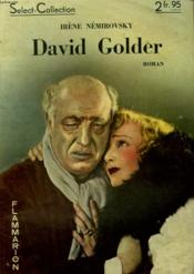 David Golder. Collection : Select Collection N° 166 - Couverture - Format classique