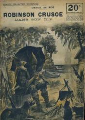 Robinson Crusoe Dans Son Ile - Couverture - Format classique