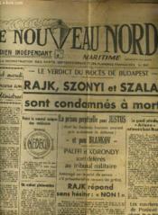 Le Nouveau Nord Maritime N°896 - 5eme Annee - Dimanche 25 Septembre 1949. - Couverture - Format classique