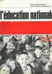 L'Education Nationale N°778 - Couverture - Format classique