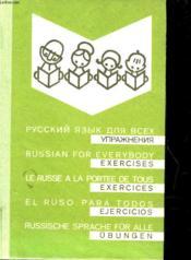 Le Russe A La Portee De Tous - Couverture - Format classique