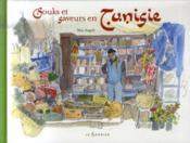 Souks et saveurs en Tunisie - Couverture - Format classique