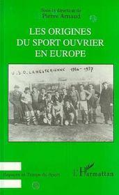Les origines du sport ouvrier en Europe - Intérieur - Format classique