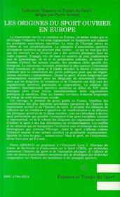 Les origines du sport ouvrier en Europe - 4ème de couverture - Format classique