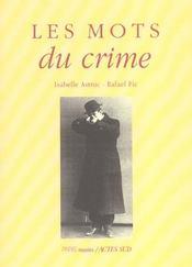 Les Mots Du Crime - Intérieur - Format classique