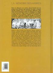 La memoire des arbres t.1 ; la hache et fusil t.1 - 4ème de couverture - Format classique