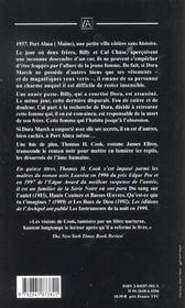 Les Ombres De La Nuit - 4ème de couverture - Format classique