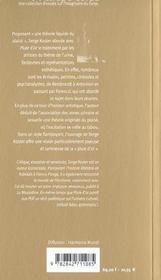 Pluie d'or ; pour une theorie liquide du plaisir - 4ème de couverture - Format classique