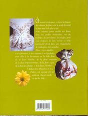 Les secrets de la fleur décorative. des fleurs à broder, à peindre, à graver... - 4ème de couverture - Format classique
