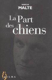 La Part Des Chiens - Intérieur - Format classique