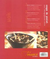 Wok asiatique et européen - 4ème de couverture - Format classique