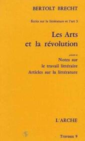 Les arts et la revolution - Couverture - Format classique