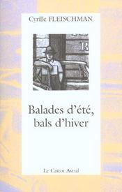 Balades D'Ete Bals D'Hiver - Intérieur - Format classique