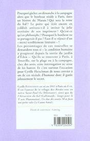 Balades D'Ete Bals D'Hiver - 4ème de couverture - Format classique